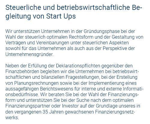Betriebswirtschaftliche Begleitung für 74399 Walheim