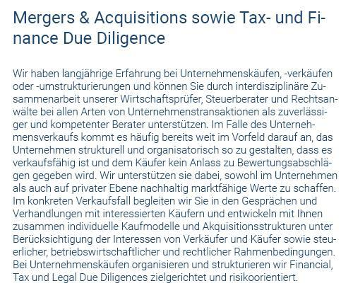Due Diligence in 71154 Nufringen