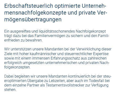 Erbschaftssteuer aus  Oppenweiler