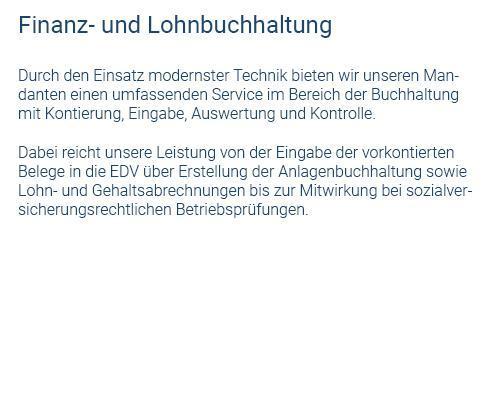 Lohnbuchhaltung aus  Ehningen