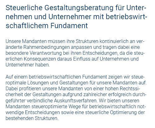 Steuerliche Gestaltungsberatung in 71409 Schwaikheim
