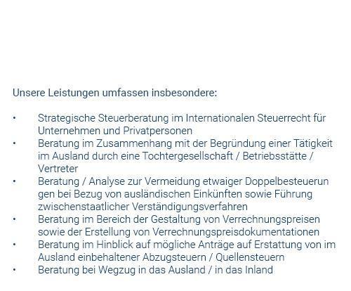 Strategische Steuerberatung aus  Bad Liebenzell