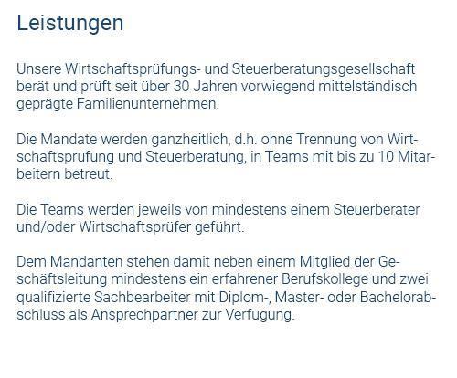 Wirtschaftsprüfer aus  Grafenau, Ostelsheim, Aidlingen, Weil der Stadt, Gechingen, Magstadt, Renningen und Ehningen, Simmozheim, Althengstett